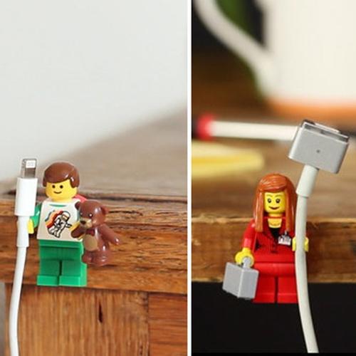 Dùng đồ chơi Lego