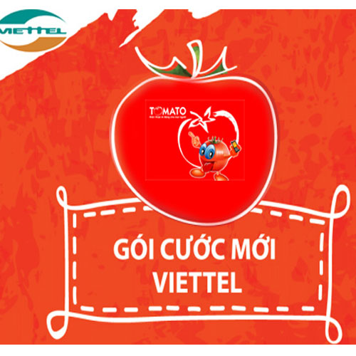 Gói cước Tomato cho thuê bao di động trả trước