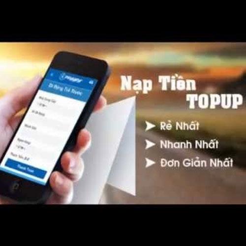 Hình thức nạp tiền TopUp