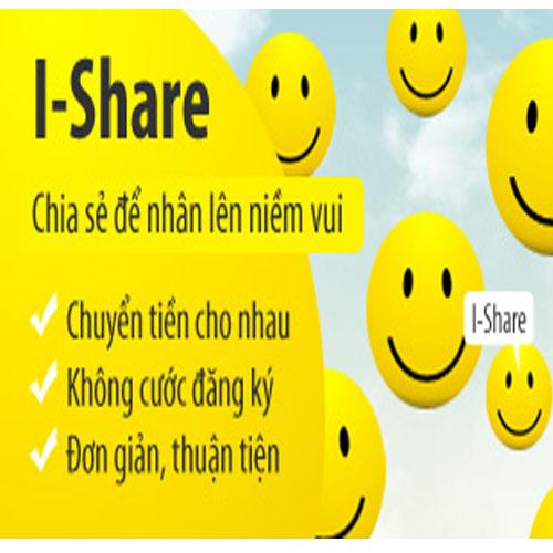 Dịch vụ chuyển khoản bằng dịch vụ I - Share