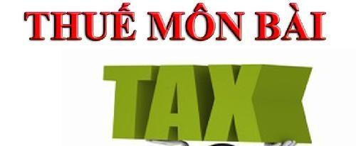 Thời hạn nộp thuế môn bài