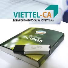 Chữ ký Số Viettel CA – Tặng USB Token