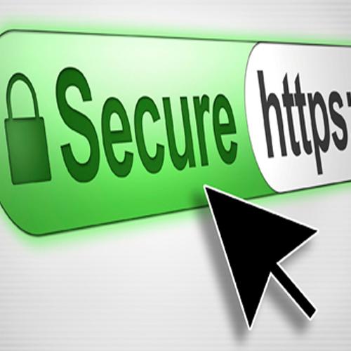 """Sử dụng trang web có giao thức kết nối an toàn """"https"""""""