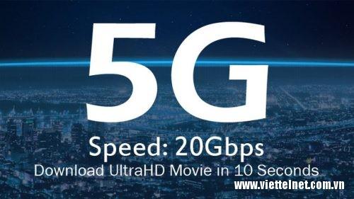 Tốc độ mạng 5G