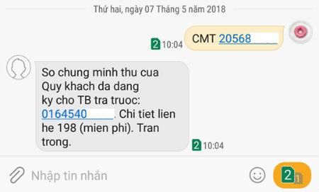 Cách kiểm tra CMND của bạn đăng ký bao nhiêu thuê bao Viettel