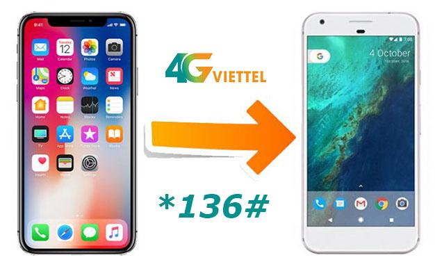 Chia sẻ data 4G đang sử dụng góiMIMAX, MIMAX90 và MIMAX1.5 Viettel