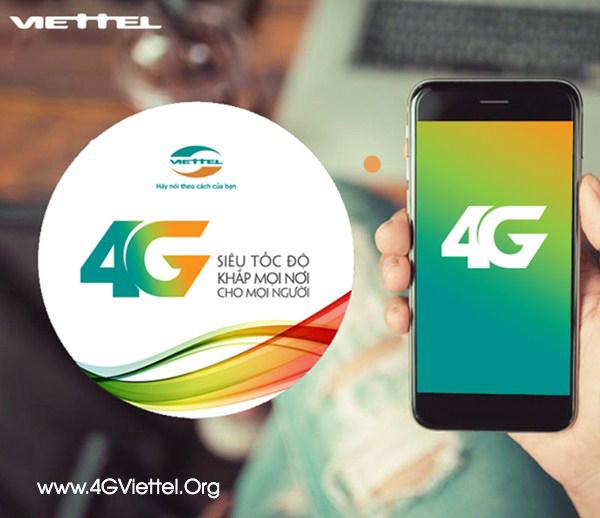 Gói 4G Viettel