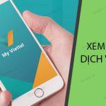 Hủy gói cước Viettel trên ứng dụng My Viettel
