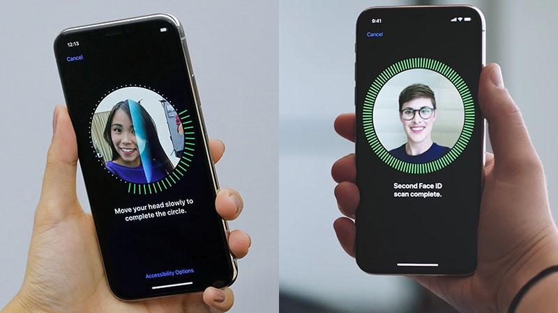 Thiết lập mở khóa Face ID trên iPhone cho người thân