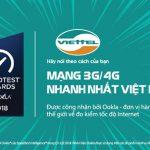 Mạng di động Viettel là nhà mạng nhanh nhất