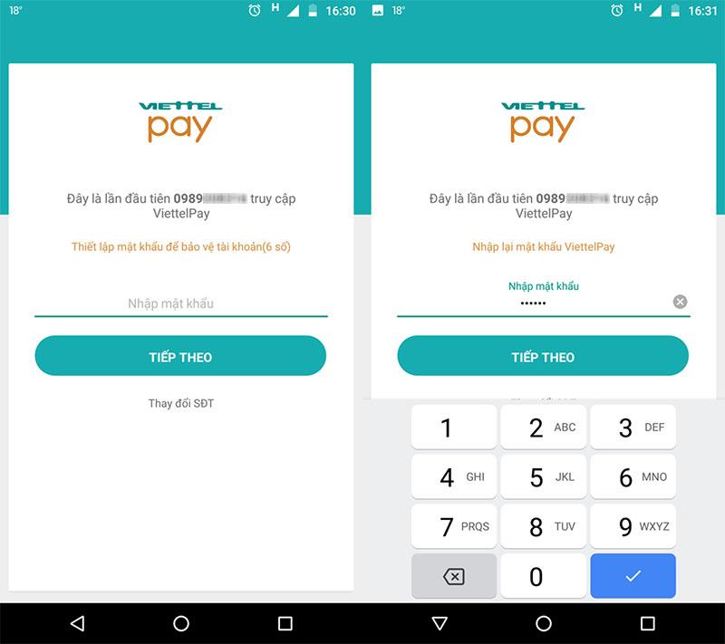 Cách thanh toán Viettel Payment