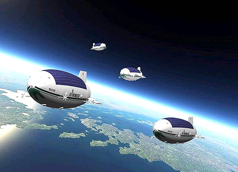 Mô hình trạm HAPS trong tương lai
