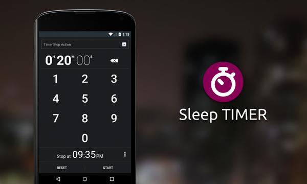 Cách sử dụng Sleep Timer