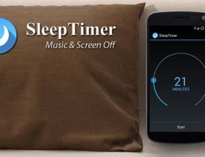 Ứng dụng Sleep Timer hẹn giờ tắt điện thoại Android