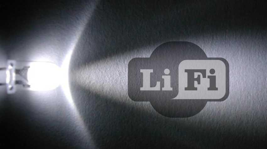Công nghệ Li-Fi kết nối bằng ánh sáng đèn LED