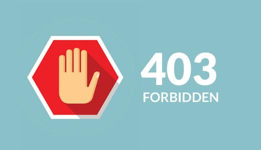 Lỗi 403