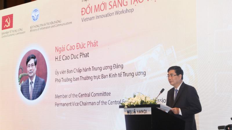 Phó Trưởng ban Thường trực Ban Kinh tế Trung ương – ông Cao Đức Phát