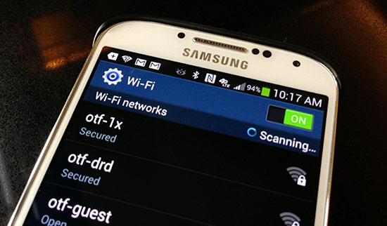 Samsung A9 không vào được wifi bạn phải làm sao?