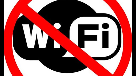 Hãy tắt bộ phát wifi khi không cần thiết