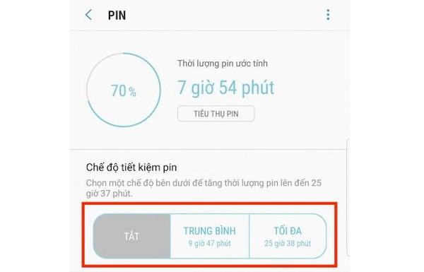 Tắt Wifi, 3G/4G, Bluetooth khi không cần thiết