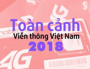 Năm 2018 đầy biến động với ngành viễn thông Việt Nam