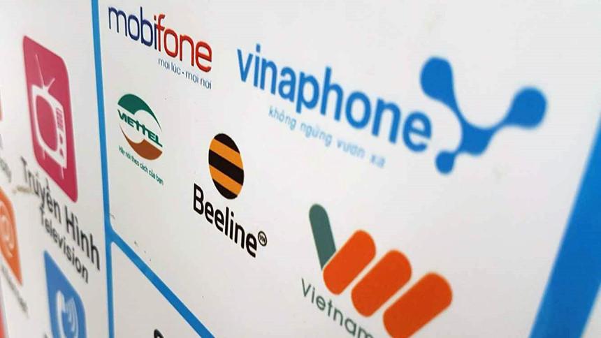 Tổng số nhà mạng tại Việt Nam là 5