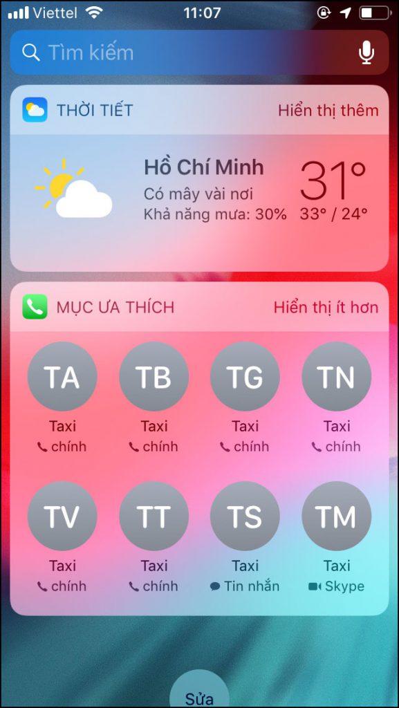 Nếu bạn sử dụng iPhone 6s trở lên, bạn có thể 3D Touch lên ứng dụng Phone