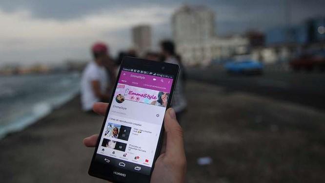 Cuba cấp Internet 3G cho điện thoại di động