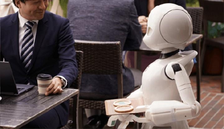 Mạng 5G được áp dụng cho quán cà phê robot