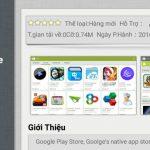 Tính năng tự động cập nhật ứng dụng trong Google Play
