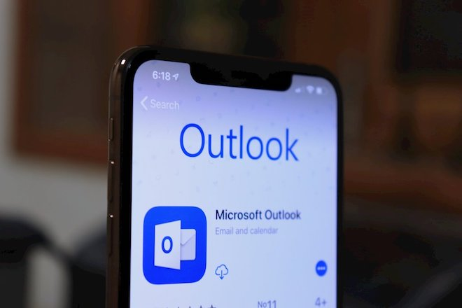 Ứng dụng Microsoft Outlook