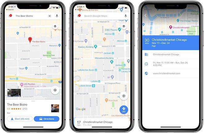 Google Maps là ứng dụng bản đồ không thể thiếu trên iPhone