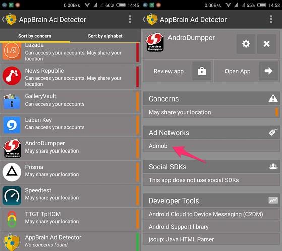 Người dùng cũng nên cài đặt thêm ứng dụng Addons Detector