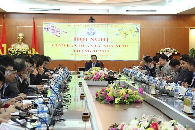 Bộ trưởng Nguyễn Mạnh Hùng phát biểu chỉ đạo tại Hội nghị
